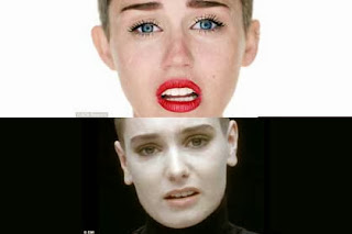 Irish singer Sinead O'Connor threatens to sue Miley Cyrus