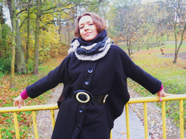 modny płaszcz z polaru, nietoperz 2013
