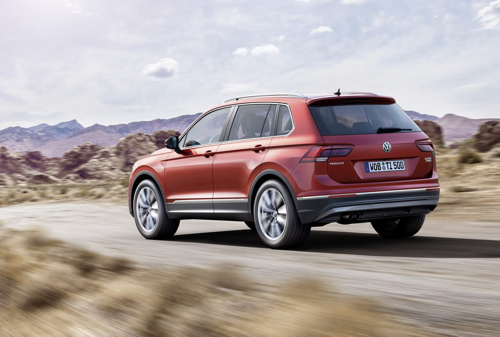 Vw Tiguan Is Bigger More Mature And More Premium