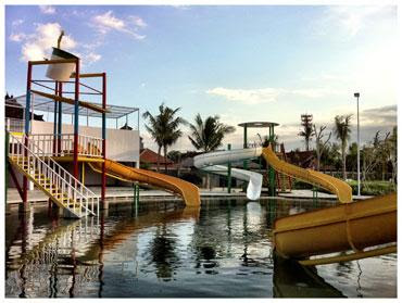 circus waterpark bali, harga tiket masuk circus waterpark, permainan murah