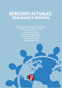 """COAUTORA [LIBRO, 2020] """"DERECHOS ACTUALES. REALIDADES Y DESAFÍOS"""""""