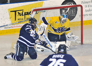 Hockey East: UNH 2, No. 6 Merrimack 1