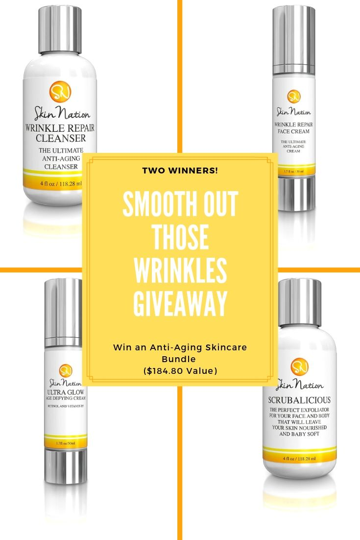 Smooth Out Those Wrinkles Giveaway