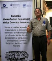 #YoMeDeclaro Defensor(a) de los Derechos Humanos
