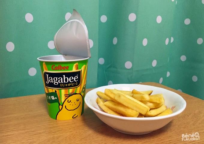 jagabee, Japanese snacks