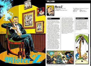 Mister Z Ficha DC Comics