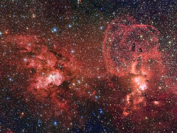 Astrofoto: Berçário de estrelas na Via Láctea do Sul