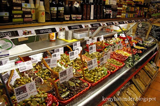 Sawers-food-shop-Belfast-olives