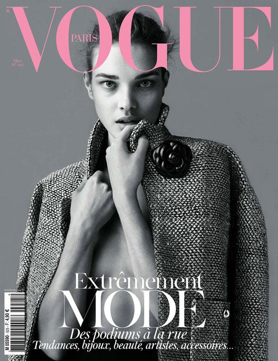 Natalia Vodianova para Vogue París