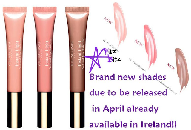 New shades of Clarins Instant Light Natural Lip Perfector available NOW!
