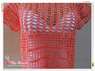 blusa em crochê, blusa em crochê circular, blusa crochê Marcia!