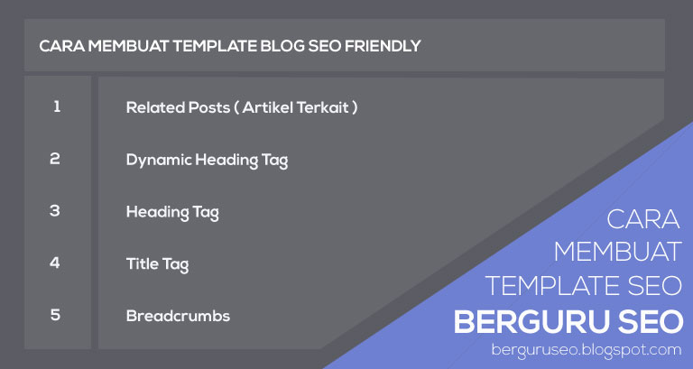 Cara Membuat Template Blog Sendiri Agar SEO Friendly 2014