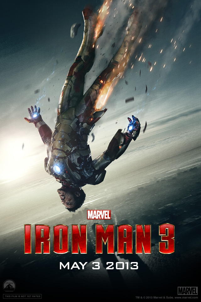 Iron Man 3 iPhone wallpaper 640x960 005