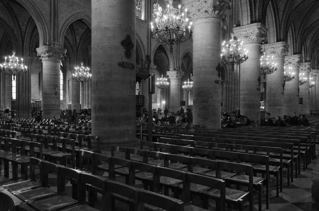 Paris - Notre Dame - intérieur