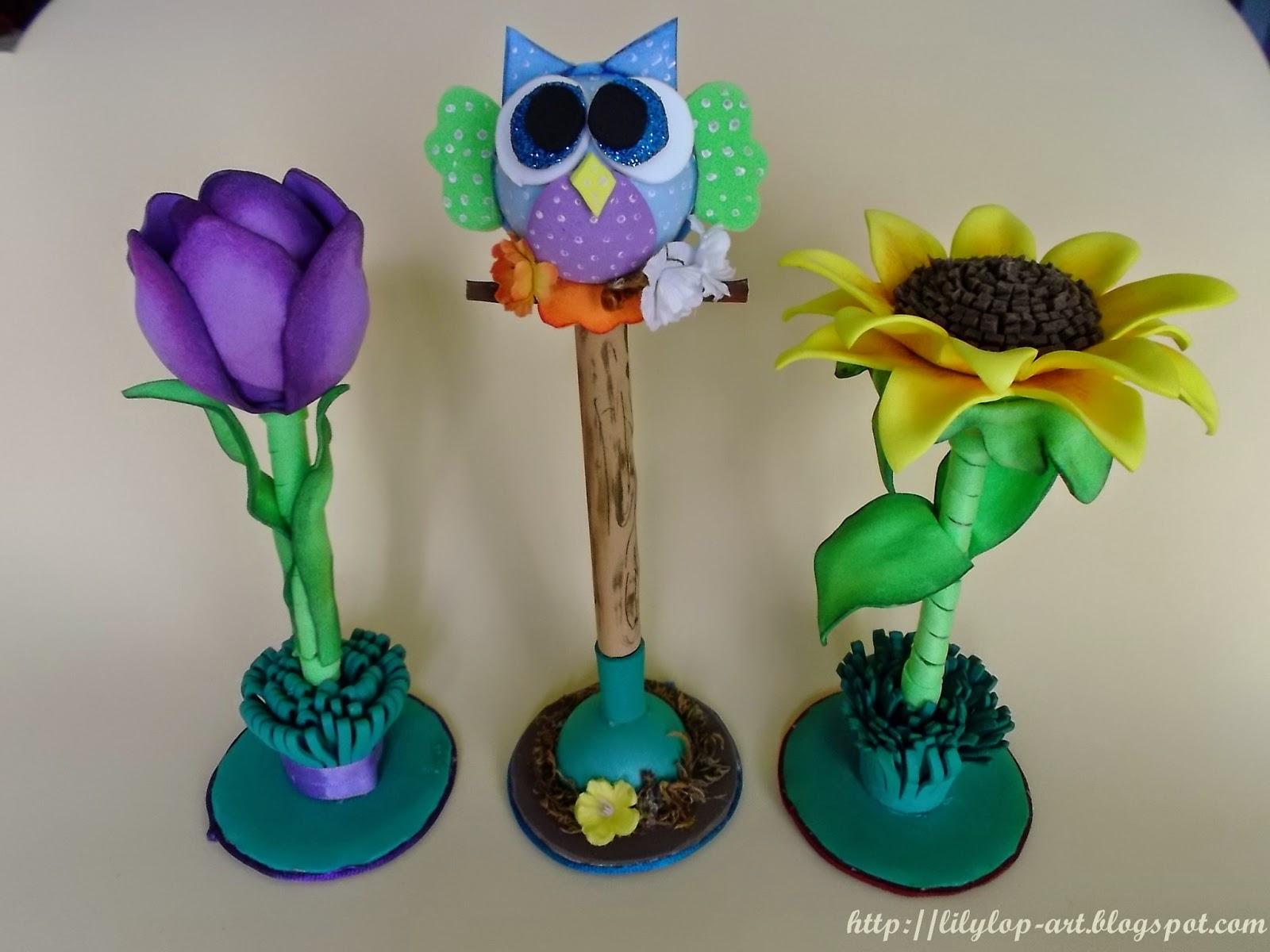Boligrafos decorados con foami - Imagui