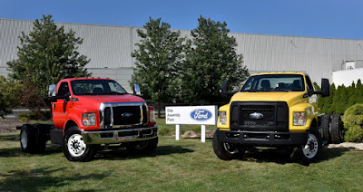 Ford F-650 and F-750 Production Creates 1,000 Jobs for Ohio
