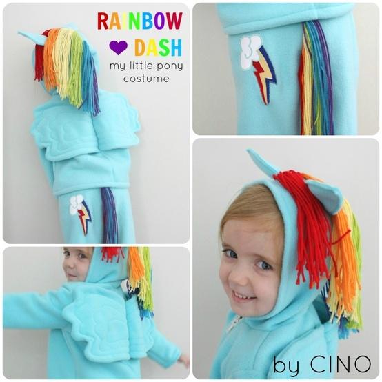 my little pony rainbow dash costume | eBay