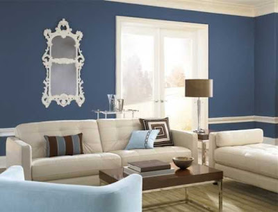 Different+wall+finishes+for+the+interior+design+of+your+bedroom++Behr-Blue-Paint-Interior-Photos