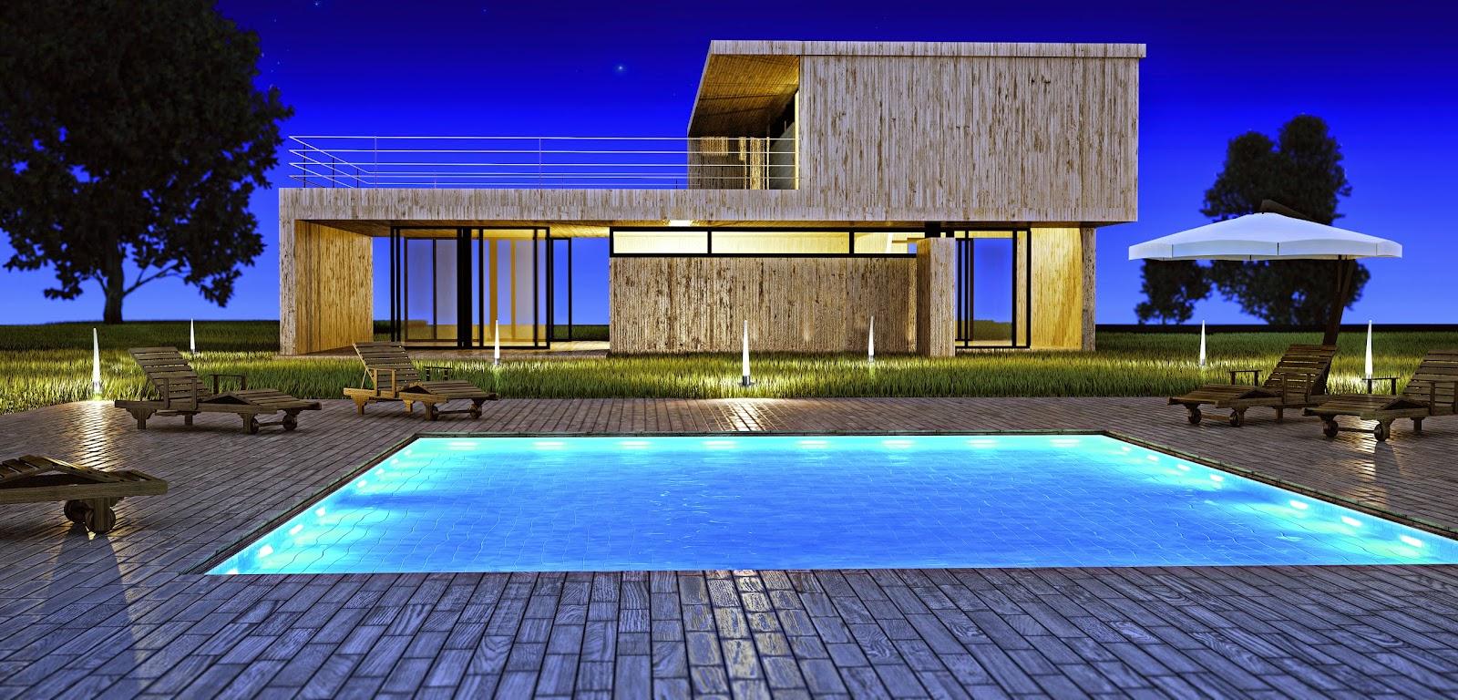 Iluminaci n para exterior consejos y modelos para - Iluminacion para terrazas ...