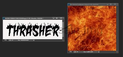 Cara Memasukan Gambar Kedalam Teks Menggunakan Adobe Photoshop 3