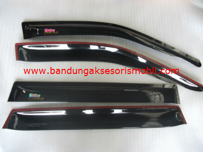 Talang Air Carens II Original Black Depan Belakang