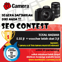 Informasi Kontes SEO camera.co.id 2013