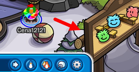 Club Penguin Puffle Roundup Park Cheats