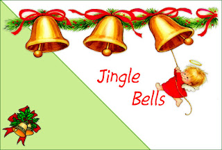 Jingle Bells Christmas Song Lyrics and Picture
