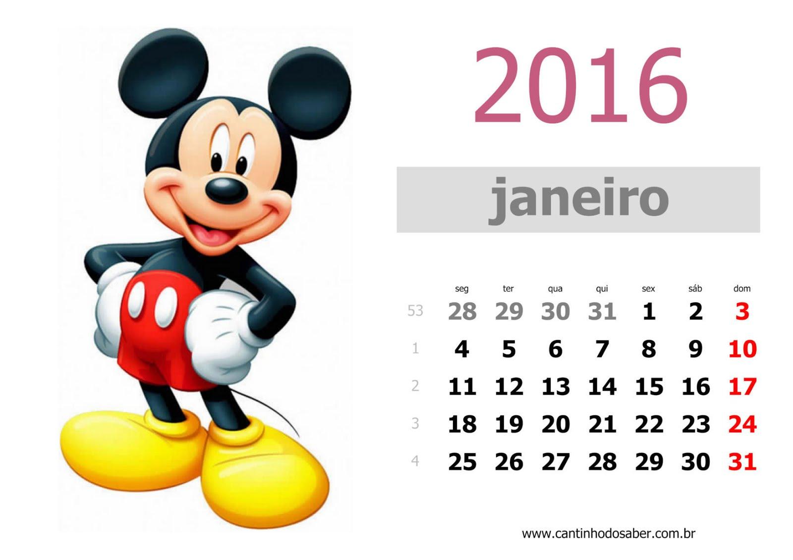 Mês de Janeiro