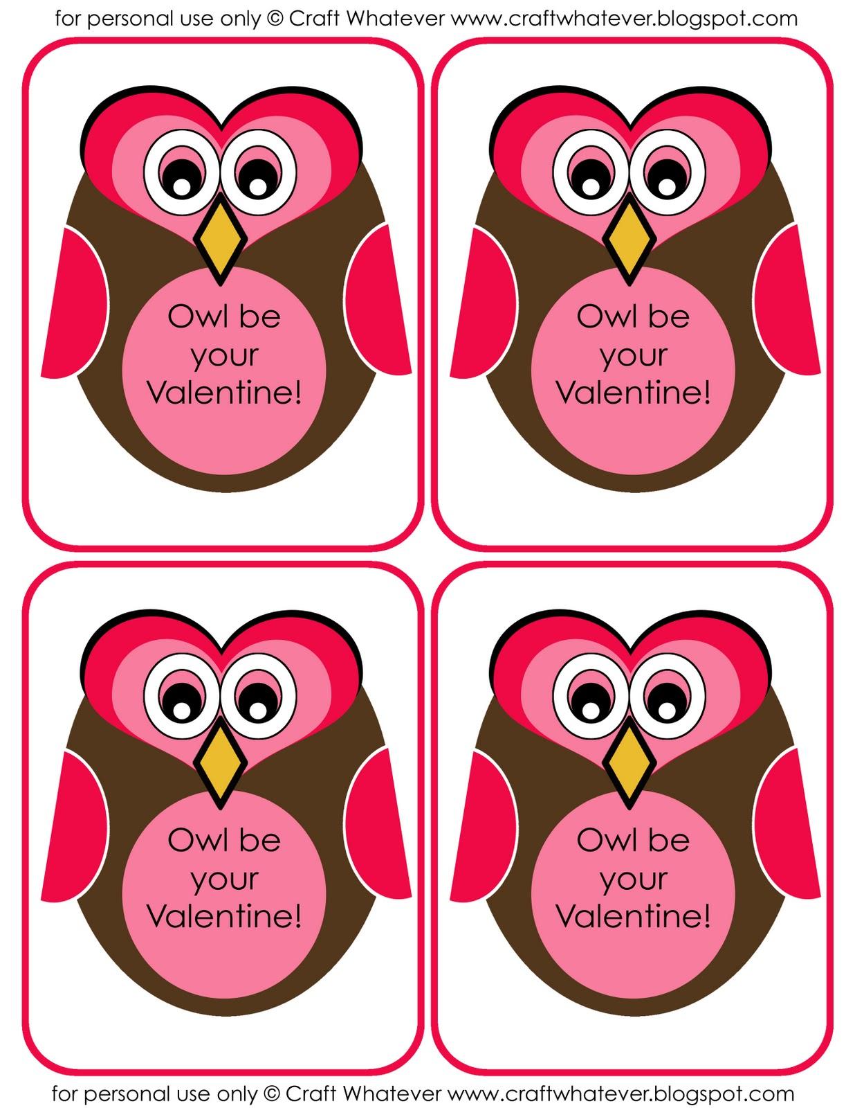 Enterprising image throughout printable valentine craft