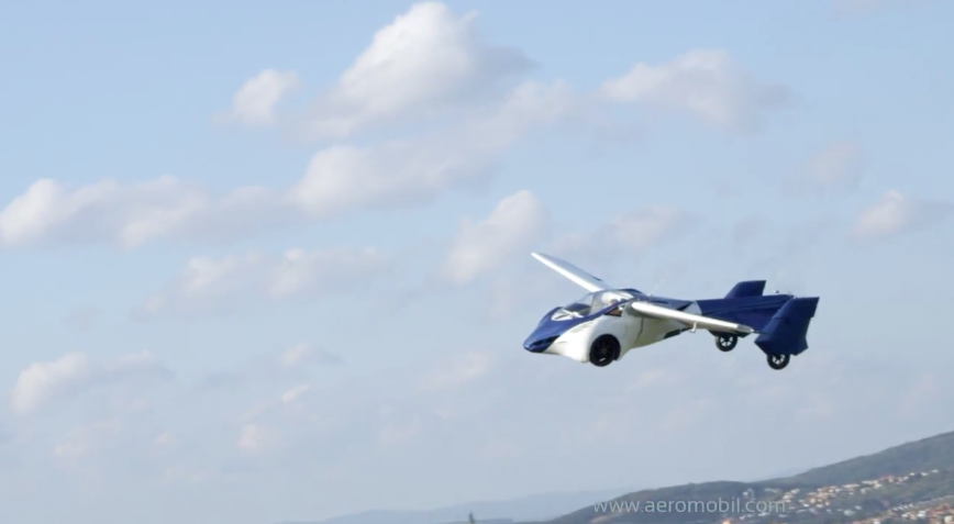 The world's first FLYING CAR has arrived