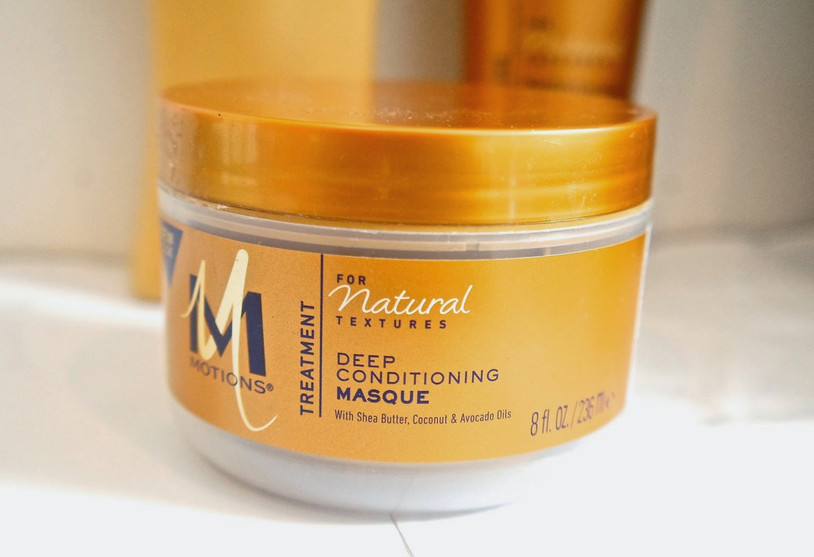 Motions For Natural Textures; Deep Conditioning Masque Review