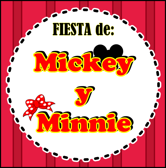 "FIESTA DE ""MICKEY Y MINNIE"""