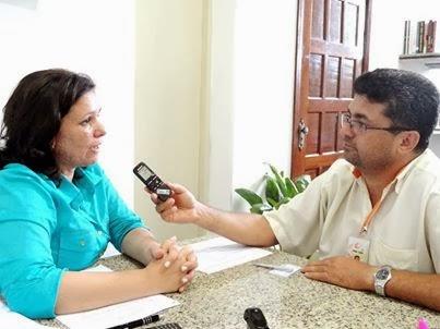 AO VIVO Entrevista com a Prefeita Karina Silva site da Rádio AM 680