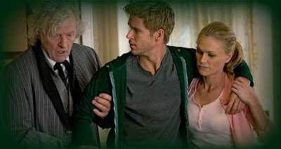 Rutger Hauer, Ryan Kwanten and Anna Paquin on HBO's True Blood