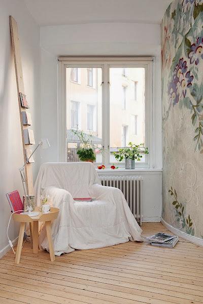 Papel pintado flores decorar tu casa es - Papeles pintados modernos ...