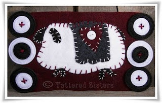 Sheep Mini Penny Rug
