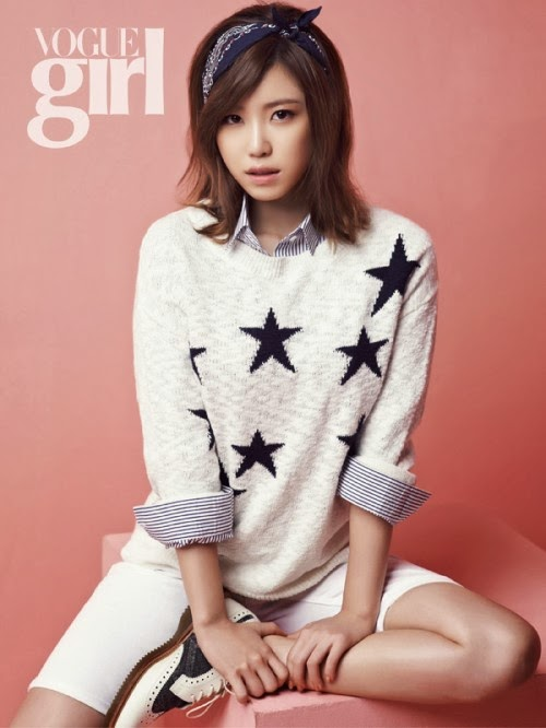 Hyosung Sunhwa Secret - Vogue Girl Magazine March Issue 2014