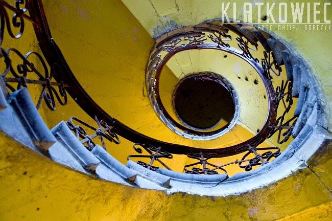 Kalisz: kręcone schody