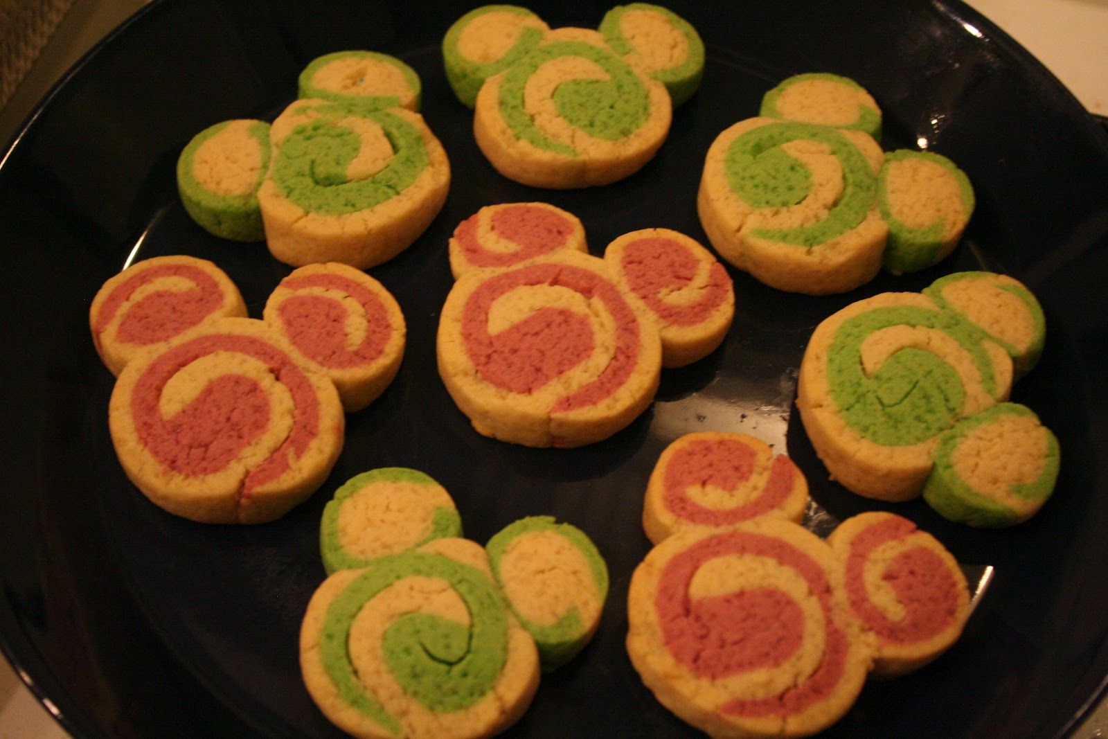 The Better Real Life Mickey Mouse Christmas Cookies