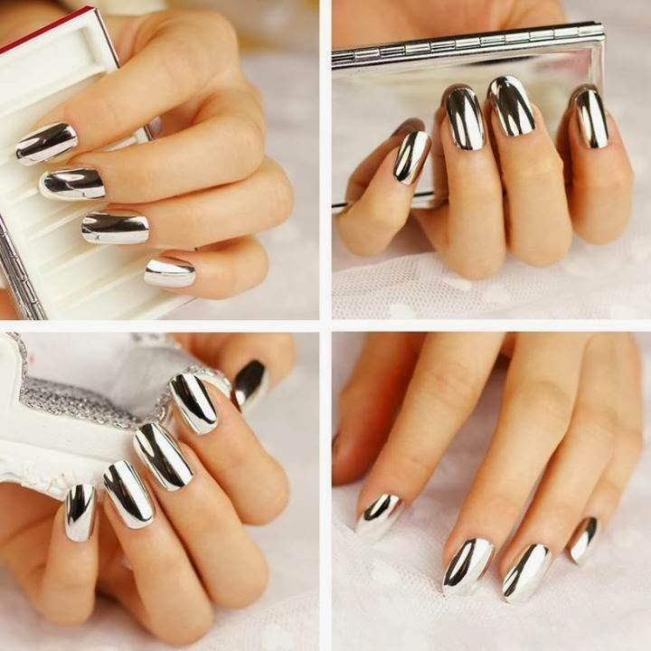 metallic nail paint