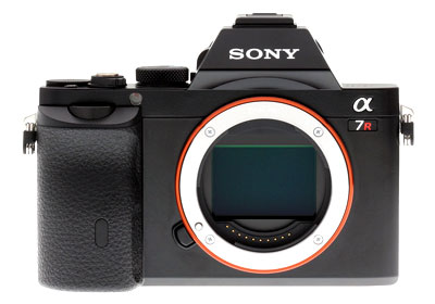 Sony A7r - Front View
