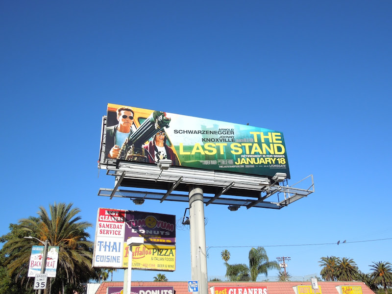 Last Stand movie billboard