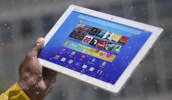 Suya ve Toza Dayanıklı Sony Xperia Z4 Tablet
