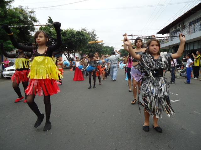disfraces formaron parte del atuendo de las niñas de la Banda de