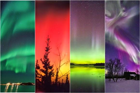 Inilah Penjelasan Ilmiah Mengapa Warna Aurora Berbeda-beda