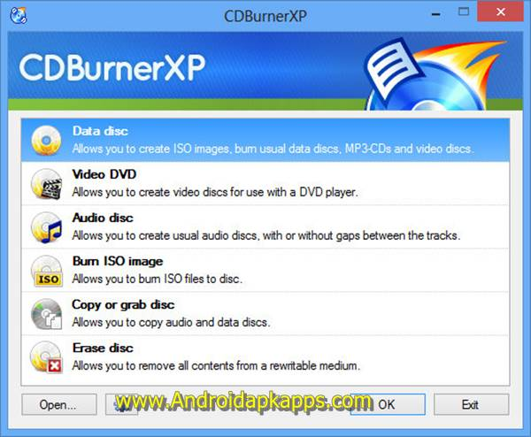 Free Download CDBurnerXP 4.5.6.5844 (32bit) Full Version Terbaru 2015 Gratis