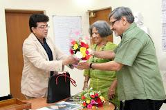 Amol and Sandhya Palekar ....