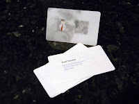 Another photo of my business cards...