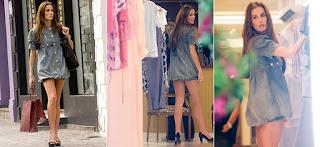 Modelo de vestido jeans balonê - dicas e fotos